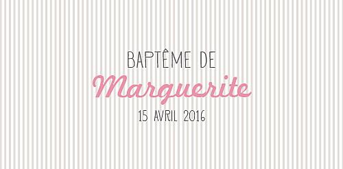 Marque-place Baptême Pop rose pastel - Page 4