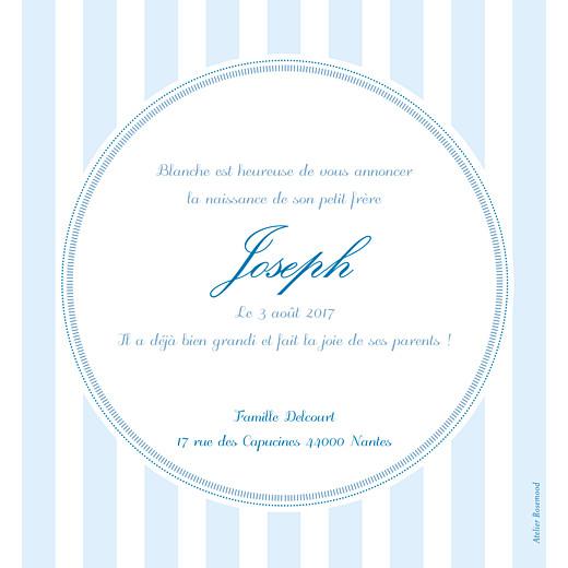 Faire-part de naissance Douceurs photo bleu - Page 2