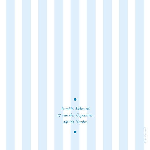 Faire-part de naissance Douceurs (4 pages) bleu - Page 4