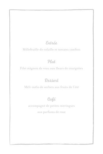 Menu de baptême Cerises gris clair - Page 3