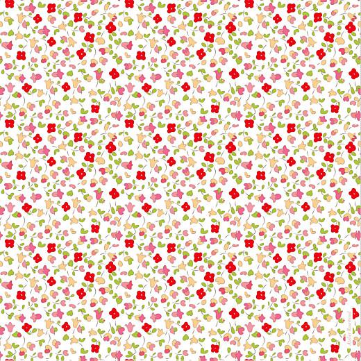 Faire-part de naissance Jardin fleuri (4 pages) rouge - Page 4