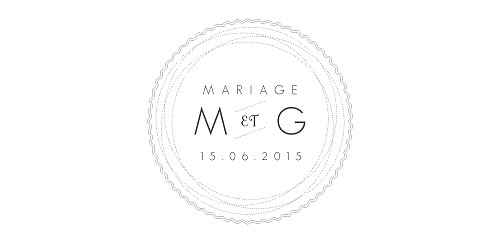 Marque-place mariage Design blanc - Page 4