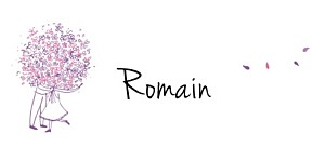 Marque-place mariage Bouquet lilas