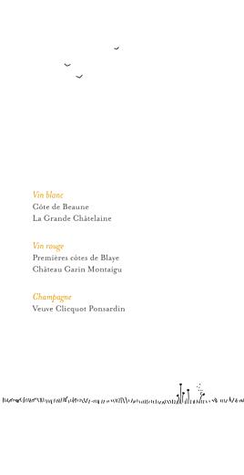 Menu de mariage Promesse champêtre (4 pages) blanc - Page 2