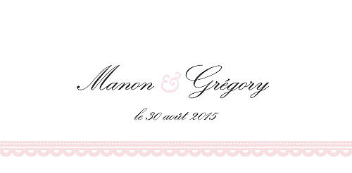Marque-place mariage Gourmand rose - Page 4