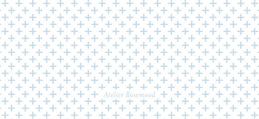 Etiquette de baptême Motif chic bleu dragee - Page 2