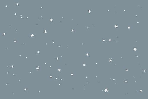Carton réponse mariage Étoile gris bleu