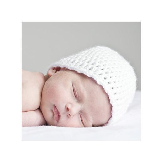 Faire-part de naissance Petit noeud photo rose