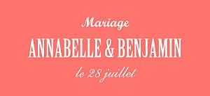 Etiquette de mariage rouge le plus beau jour corail