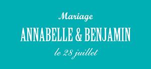 Etiquette de mariage Le plus beau jour céladon