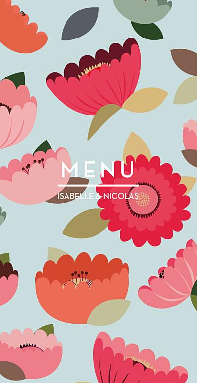 Menu de mariage jardin boh me atelier rosemood for Jardin lee menu livraison