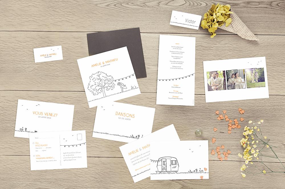 carte de remerciement mariage promesse champtre 3 photos blanc faire part - Texte Faire Part De Remerciement Mariage