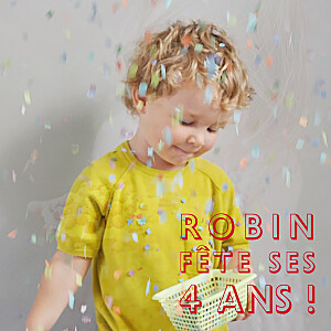 Carte d'anniversaire rouge mini the photo ! justifié rouge