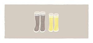 Etiquette de mariage À pieds joints couple