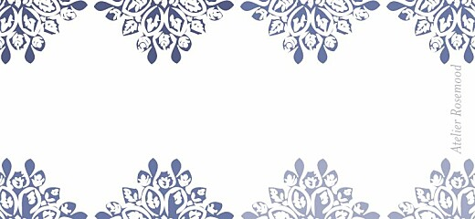 Etiquette de mariage Grâce blanc bleu - Page 2