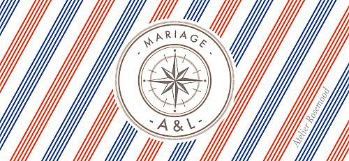 Etiquette de mariage Voyage blanc - Page 2