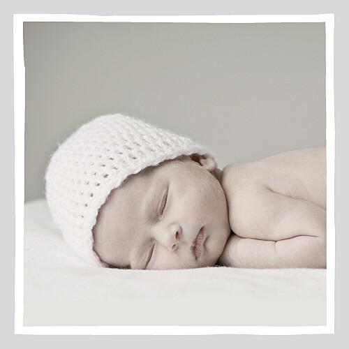 Faire-part de naissance Chérie photo (4 pages) gris rouge - Page 2