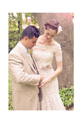 Carte de remerciement mariage La tête dans les nuages vert - Page 2