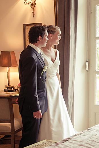 Carte de remerciement mariage Plein la vue portrait (3 photos) blanc - Page 2