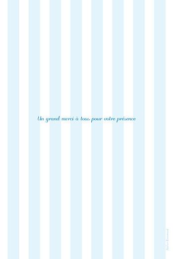 Menu de baptême Douceurs bleu - Page 4