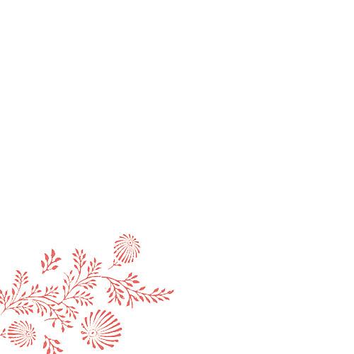Faire-part de mariage Idylle (4 pages) corail - Page 2
