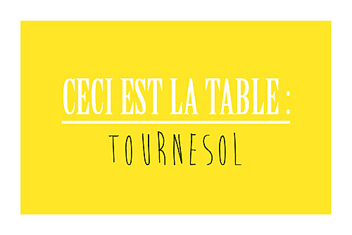 Marque-table mariage Un grand oui ! jaune