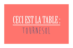 Marque-table mariage rouge un grand oui ! corail