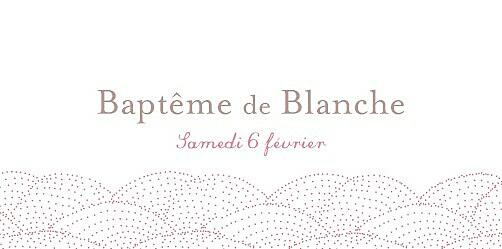 Marque-place Baptême Délicatesse rose - Page 4