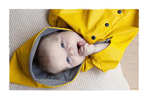 Faire-part de naissance Balade (2 enfants) photos beige jaune - Page 2