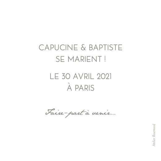 Save the Date Petit polaroid blanc - Page 2