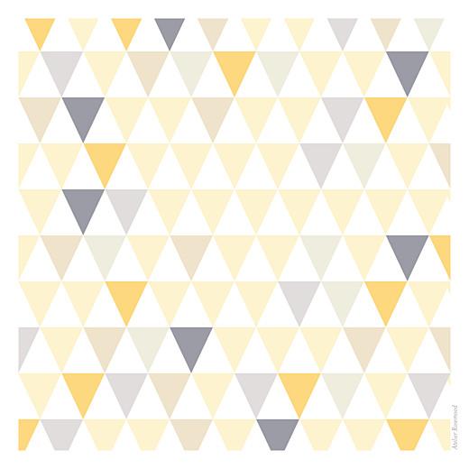 Faire-part de naissance Triangles (3 photos) jaune violet - Page 4