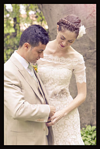 Carte de remerciement mariage noir souvenir 1 photo (portrait) noir