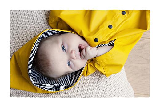 Faire-part de naissance Balade (3 enfants) photos fond gris & bottes bébé fille - Page 2