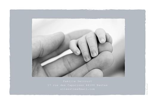 Faire-part de naissance Balade (3 enfants) photos fond gris & bottes bébé fille - Page 4