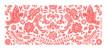 Etiquette perforée mariage Papel picado corail - Page 2