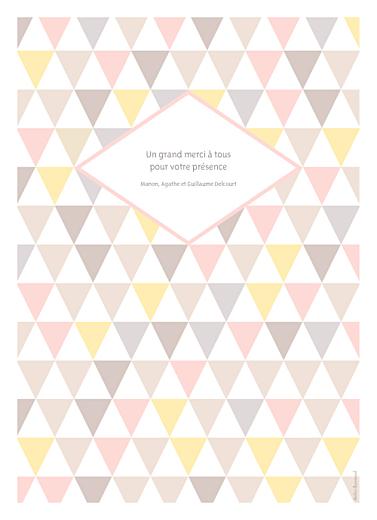 Livret de messe Triangles rose - Page 4