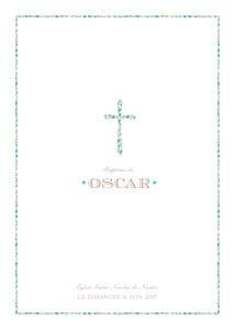 Livret de messe Croix liberty bleu