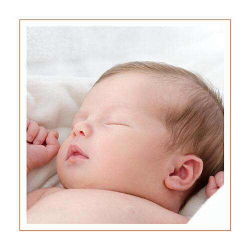 Faire-part de naissance Mini paisley photo rose & orange - Page 2