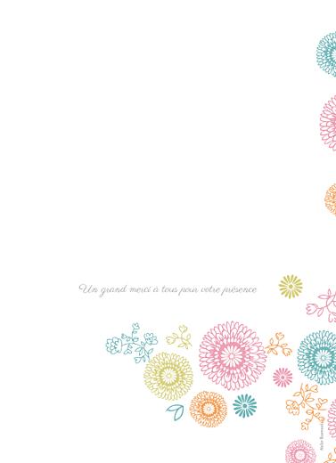 Livret de messe mariage Champêtre multicolore - Page 4
