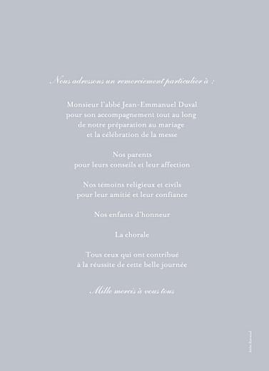 Livret de messe mariage Colombe gris - Page 4