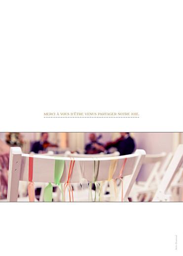 Livret de messe mariage La vie est belle ! blanc - Page 4
