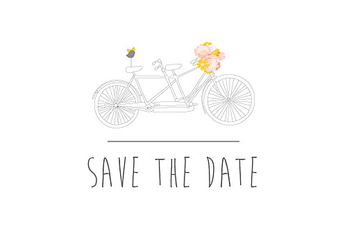 Save the Date Tandem rose ocre - Page 1