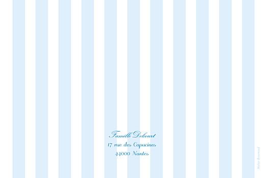 Faire-part de naissance Douceurs paysage photo bleu - Page 4