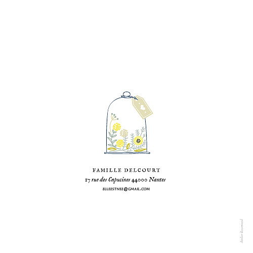Faire-part de naissance Douceur champêtre photo blanc - Page 4
