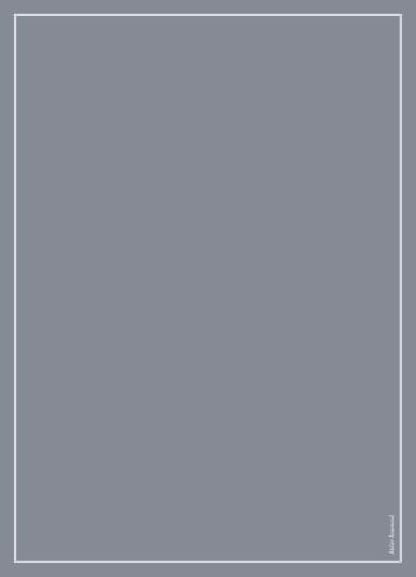 Livret de messe mariage Chic liseré gris foncé - Page 4