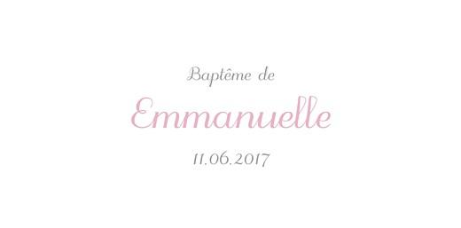 Marque-place Baptême Balade rose - Page 4