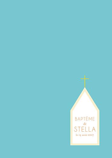 Livret de messe Petite église turquoise