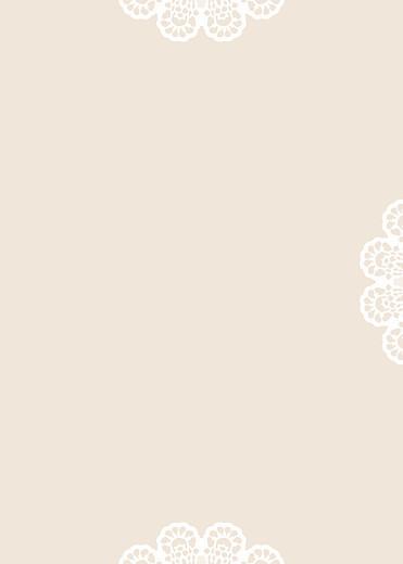 Livret de messe mariage Boudoir dentelle beige blanc - Page 3