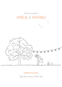 Livret de messe mariage blanc promesse champêtre blanc
