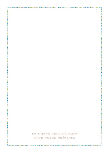 Livret de messe Poisson liberty bleu - Page 4